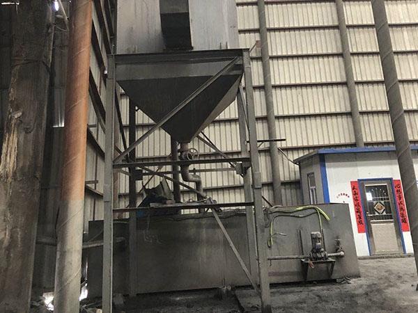 Environmental protection desulfurization and denitrification tower